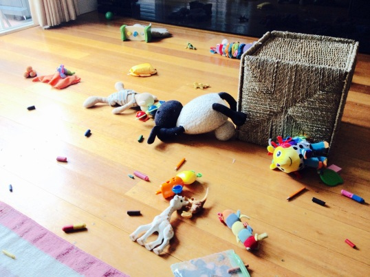 It was a massacre, as hard as he tried Rex the dino just couldn't save Sophie le Giraffe. Shaun the giant sheep took them all out before breathing his last breath.